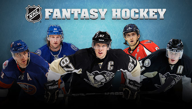 NHL fantasy hockey team